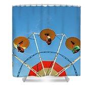 Carnival Fan Shower Curtain