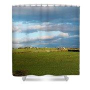 Carnmenellis Landscape Shower Curtain