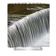Carolina Water Splash Shower Curtain