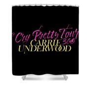 Carrie Underwood Cry Pretty 2019 Ajadcode11 Shower Curtain