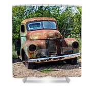 Cars From The Past Shower Curtain