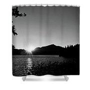 Cascade Sunset Shower Curtain