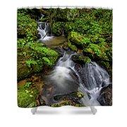 Cascades Of Lee Falls Shower Curtain