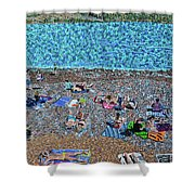 Cassis, France 2 Shower Curtain