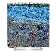 Cassis, France Shower Curtain