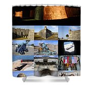 Castillo De San Marcos National Monument Shower Curtain