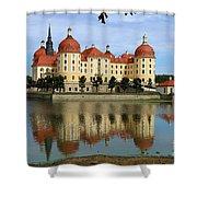 Castle Moritzburg  Shower Curtain