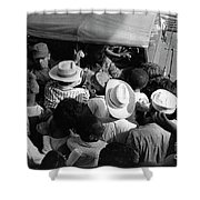 Castro Men And Women Shower Curtain