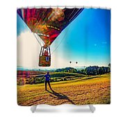 Catch Me If You Can. Shower Curtain by Kendall McKernon