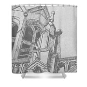 Cathedral Helena Montana Shower Curtain