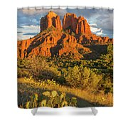 Cathedral Rock, Coconino National Shower Curtain