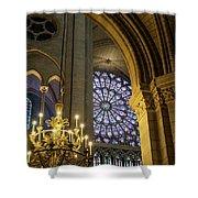 Cathedrale Notre Dame De Paris Shower Curtain by Brian Jannsen