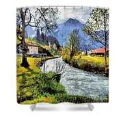 Cfm13891 Shower Curtain