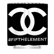 Chanel Fifth Element-2 Shower Curtain