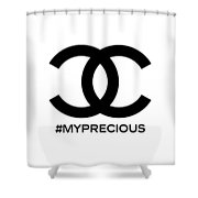 Chanel My Precious-1 Shower Curtain