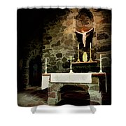 Chapel On A Rock Shower Curtain