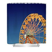 Chariots Of Gold Shower Curtain