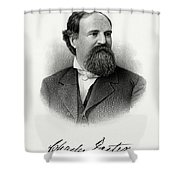 Charles Foster Shower Curtain