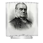 Charles J. Folger Shower Curtain