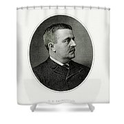 Charles S. Fairchild Shower Curtain
