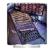 Cheese Grater 30 Shower Curtain