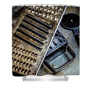 Cheese Grater 33 Shower Curtain