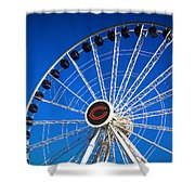 Chicago Centennial Ferris Wheel Shower Curtain