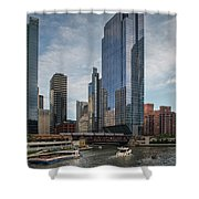 Chicago Skyline #1 Shower Curtain