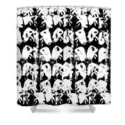 Chicken Farm 3 Shower Curtain