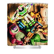 Childhood Collectibles Shower Curtain