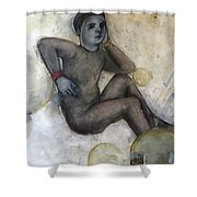 Childs Dancer 41 Shower Curtain