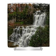 Chitennango Falls Shower Curtain