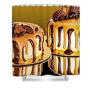 Chocolate Delights Shower Curtain