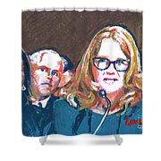 Christine Blasey Ford Testifies Before Senate Shower Curtain