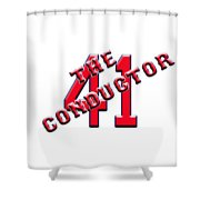 Chris The Conductor Sale Shower Curtain