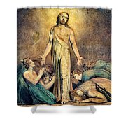 Christ Appearing To The Apostles After The Resurrection - Digital Remastered Edition Shower Curtain