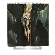 Christ On The Cross, 1610 Shower Curtain