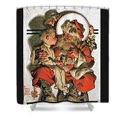 Christmas Eve - Digital Remastered Edition Shower Curtain