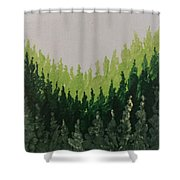 Christmas Is Comin' Shower Curtain