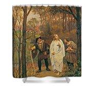 Christus Und Die J Nger Von Emmaus 1914 Shower Curtain