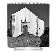 Church Of Misericordia In Monochrome Shower Curtain