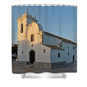 Church Of Querenca In Loule. Portugal Shower Curtain