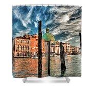 Church Of San Simeone Piccolo, Venice Shower Curtain
