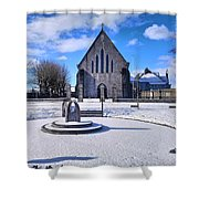 Church Of The Assumption, Mooncoin  Shower Curtain