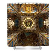 Church Of The Spilled Blood Shower Curtain