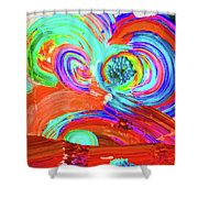 Circle Time Shower Curtain