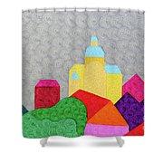City 1 Shower Curtain