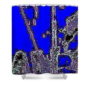 Abstract/city Lights Shower Curtain