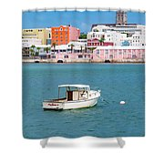 City Of Hamilton Bermuda Shower Curtain