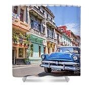 Classic Car Havana 8x10 Shower Curtain